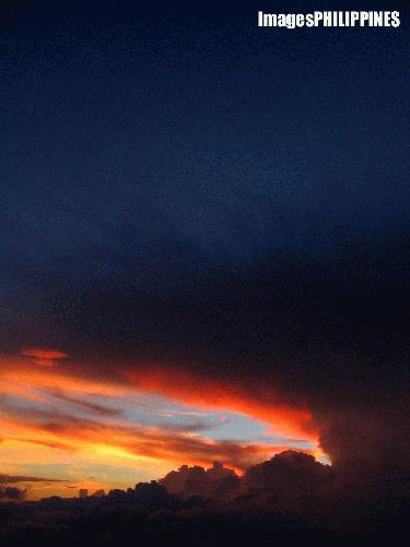 """Deep Grudge (Mt. Matutum Sunset Cloudscape)"", 
