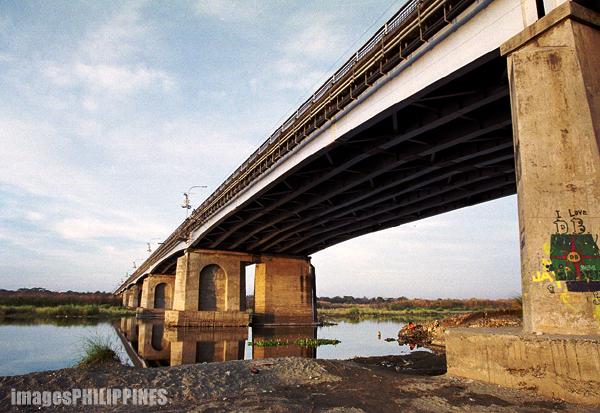 """Under the Bridge in Laoag"",  Place Taken: Laoag City take on  Date Taken: 2003"