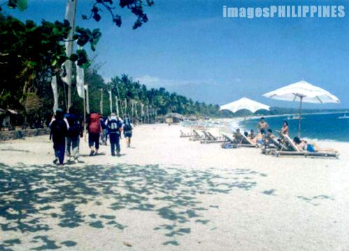 """""""Beach Trekking"""",  Place Taken: Batangas take on  Date Taken: 2003"""