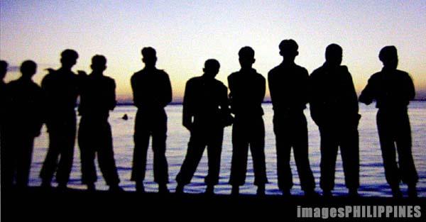 """Band of Brothers"",  Place Taken: Sinulog Festival, Cebu City take on  Date Taken: 2003"