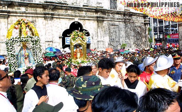 """Reenacment of the arrival of christianity in the , 