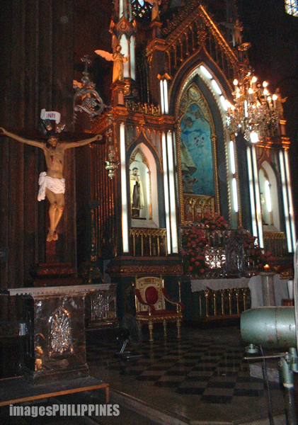 """Altar of the San Sebastian Church"", 