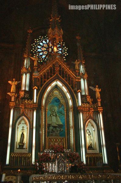 """Statue of Our Lady of Mount Carmel"",  Place Taken: Quiapo Manila take on  Date Taken: 2003"