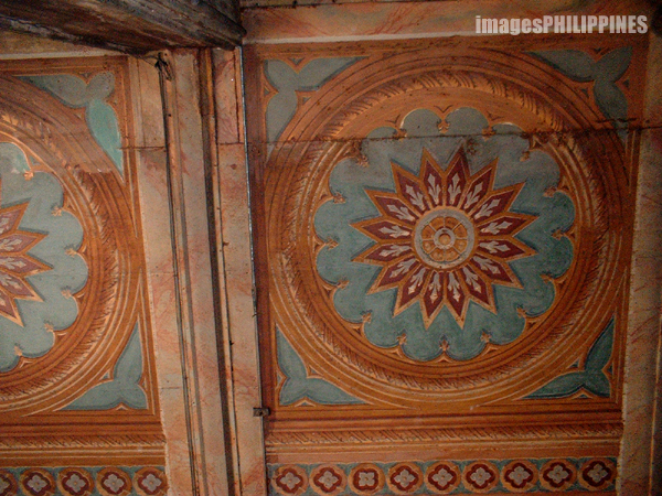 """Ceiling Design of San Sebastian Church"", 