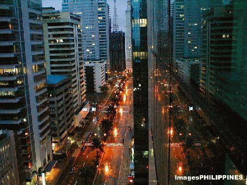 """""""Emerald Avenue"""",  Place Taken: Metro Manila take on  Date Taken: 2002"""