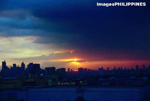 """""""After the Storm"""",  Place Taken: Metro Manila take on  Date Taken: 2004"""