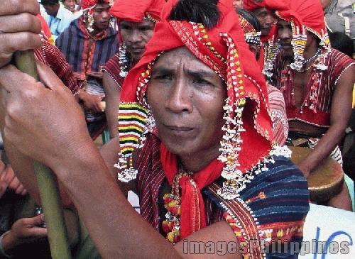 """Lang-ay Festival, Beaded Man from Paracelis"",  Place Taken: Mountain Province take on  Date Taken: 2005"
