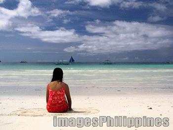 """In A Circle of Contemplation"",  Place Taken: Boracay, Aklan take on  Date Taken:  2004"