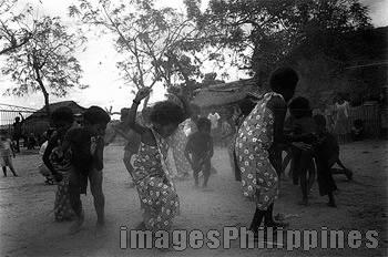 """""""Aeta Traditional Dance"""",  Place Taken: Tarukan, Tarlac take on  Date Taken: 2002"""
