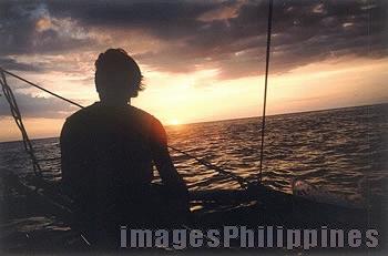 """Apo Reef Sunset"",  Place Taken: Apo Reef, Mindoro Occidental take on  Date Taken: 2004"