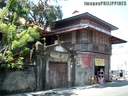 """""""An Old Spanish House in Balayan"""",  Place Taken: Balayan, Batangas take on  Date Taken: 2003"""