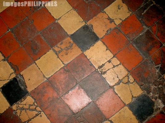�Floor design in Basilica of St.Martin de Tours�,  Place Taken: Taal, Batangas take on  Date Taken: 2003