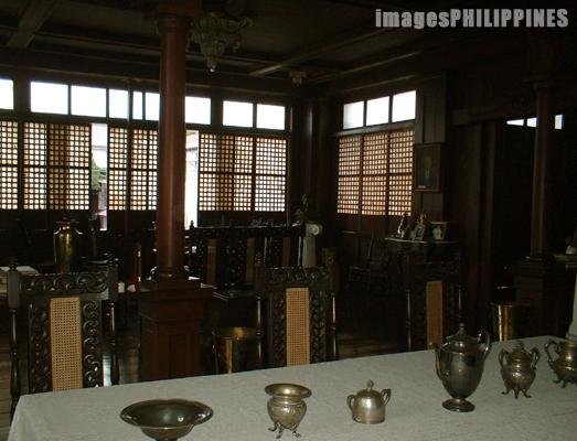 The Dining Room inside the Don Felipe Agoncillo ,  Date Taken: 2003 take on  Photographer/Artist: Christiane L. De La Paz