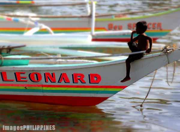 """Boy Leonard"",  Place Taken: Capiz take on  Date Taken: 2002"