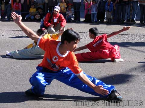 """Wushu sa Panagbenga"",  take on 
