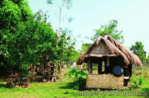 """""""Bahay Kubo or Little Nipa Hut"""",  Place Taken: Palauig, Zambales take on  Date Taken: 2005"""