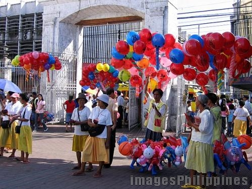 """Balloon and Candle Vendors 02"", 