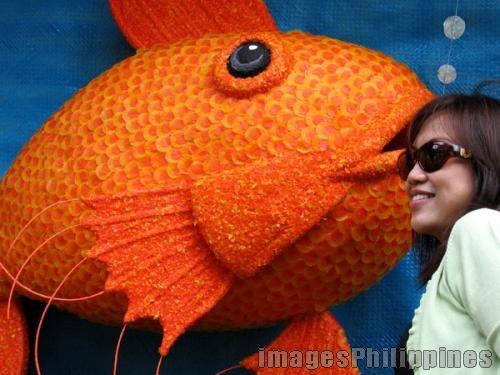 """""""Pahiyas Goldfish"""",  Place Taken: Lucban, Quezon take on  Date Taken: 2006"""