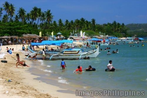 """""""Visit the Beaches of Laiya, Batangas"""",  Place Taken: Laiya, Batangas take on  Date Taken: 2005"""