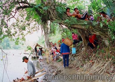 """""""Lumads Welcoming """",  Place Taken: Bukidnon take on  Date Taken: 2004"""