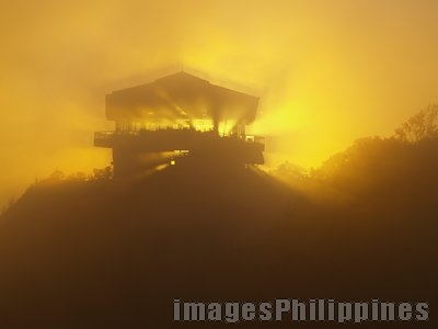 """""""Fog at the Rest Resthouse"""",  Place Taken: Tagaytay take on  Date Taken: 2006"""