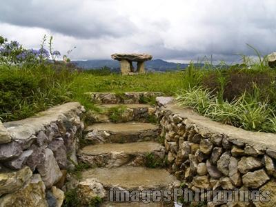 """""""Stone Pedestal"""",  Place Taken: Mirador Hills, Baguio take on  Date Taken:  2006"""