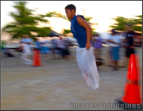 """Sack Race"", 