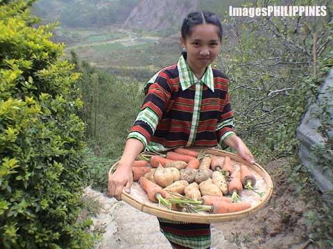 """""""Mountain Maiden"""",  Place Taken: Benguet take on  Date Taken: 2004"""