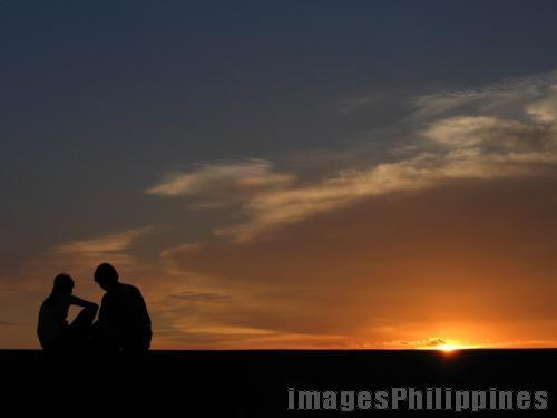 """""""Sunset Lovers 2"""",  Place Taken: Metro Manila take on  Date Taken: 2008"""