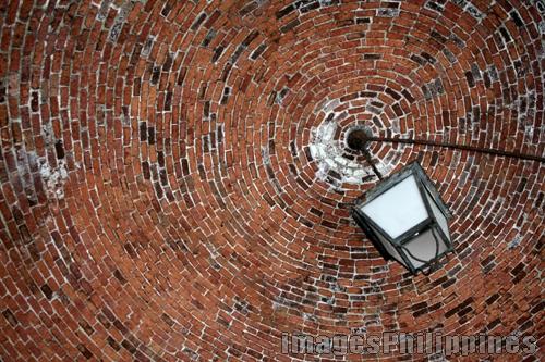 Brick Ceiling,  Place Taken: Metro Manila take on  Date Taken: 2006