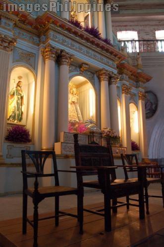 """Chair of Bacolor Church"",  Place Taken: Pampanga take on  Date Taken: 2007"