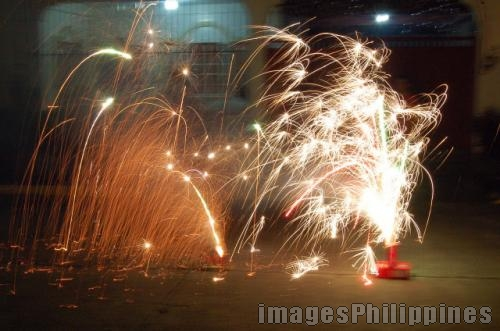 """Fireworks Display"", 