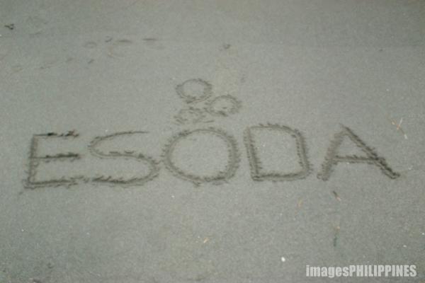 """""""ESODA on the sand"""",  Place Taken: Iba, Zambales take on  Date Taken: June 2003"""