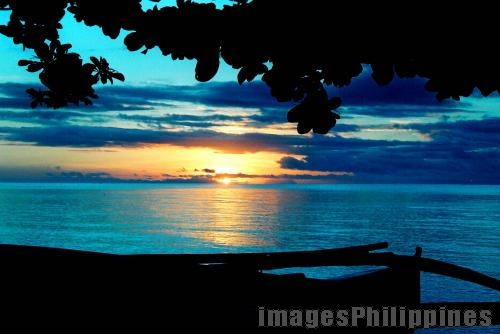 """sunrise blues"",  Place Taken: Poblacion, Anda, Bohol take on  Date Taken: 2004"