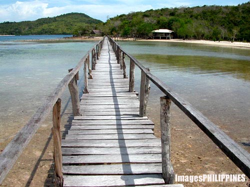 """Coral Bay Foot Bridge"", 