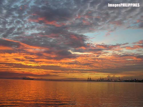 """Baywalk Sunset I"", 