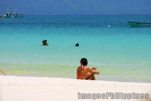 """Beach Scene, Boracay"",  Place Taken: Boracay,Aklan take on  Date Taken: 2005"