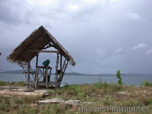 """""""Lonely Nipa Hut"""",  Place Taken: Puerto Princesa, Palawan take on  Date Taken: Nov. 2003"""