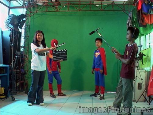 """Kiddy Shoot at the Baguio Media Museum"",  Place Taken: Baguio take on  Date Taken: 2007"
