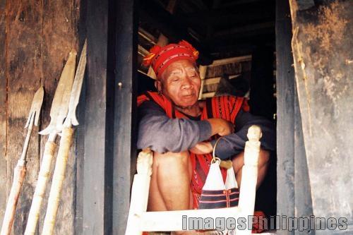 """""""Ifugao Old Man"""",  Place Taken: Ifugao take on  Date Taken: 2008"""