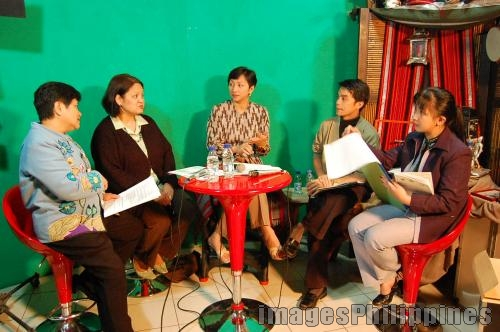 """Talk Show at the Baguio Media Museum"", 