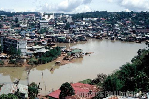 """""""Flooded Baguio"""",  Place Taken: Benguet take on  Date Taken:  1989"""