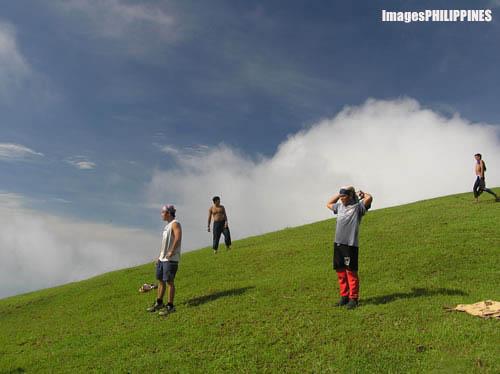 """""""Strolling along the Hills"""" ,  Place Taken: Batangas take on  Date Taken: 2004"""