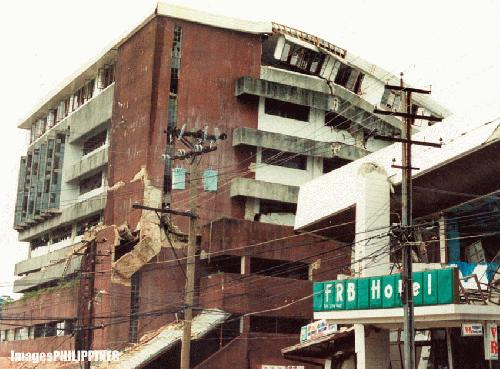 """""""After the Quake"""" ,  Place Taken: Baguio City take on  Date Taken:  1990"""