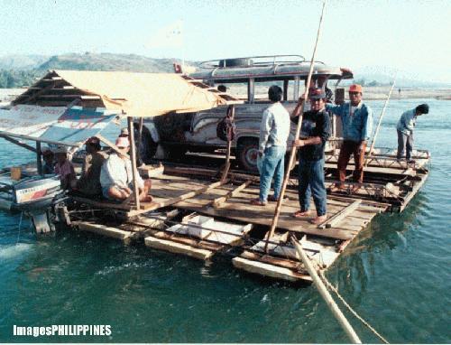 """""""Abra River Crossing"""" ,  Place Taken: Manabo, Abra take on  Date Taken: 1996"""