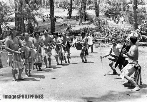 """""""Bontoc Warriors"""" ,  Place Taken: Baguio City take on  Date Taken:  1984"""