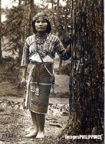 """""""Gaddang Woman"""" ,  Place Taken: Baguio City take on  Date Taken: 1980"""