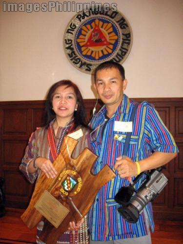 """""""Art and Helen at the Mansion"""",  Place Taken: Benguet take on  Date Taken: 2006"""