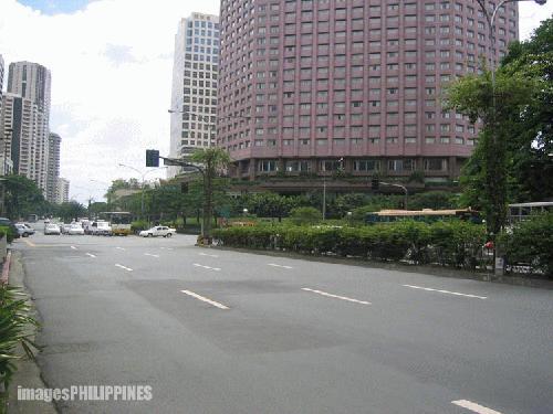"""Makati Avenue"",  take on  Date Taken: 2003"