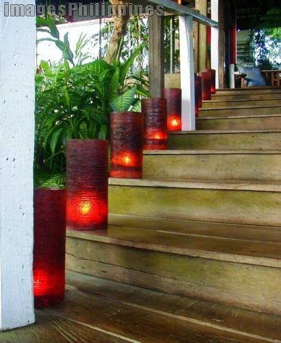 """""""Antonio's Candlelit Stairway3"""",  Place Taken: Antonio's,Tagaytay,Cavite take on  Date Taken: 2005"""